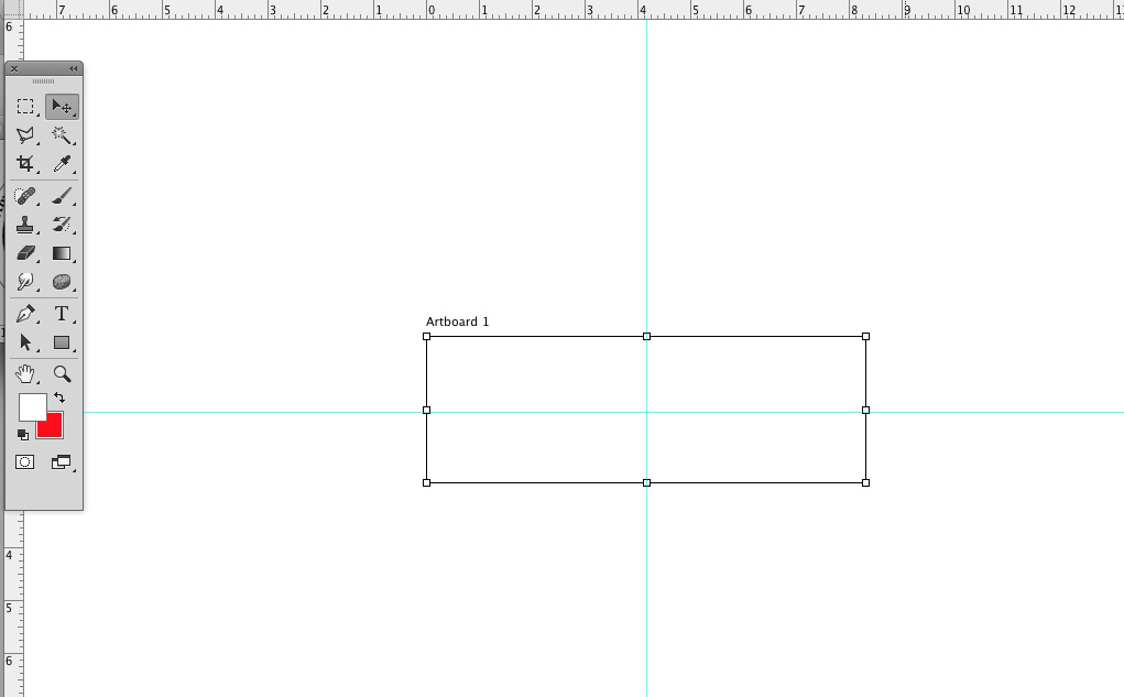 how to add ruler guide in photoshop artboards