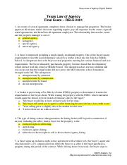 law on agency reviewer pdf