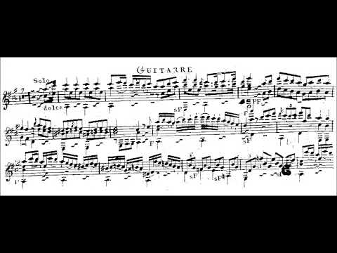 mauro giuliani guitar concerto no 1 in a pdf