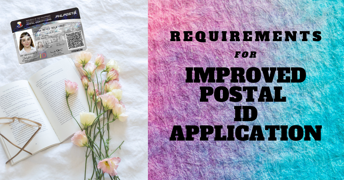 how much is postal id application