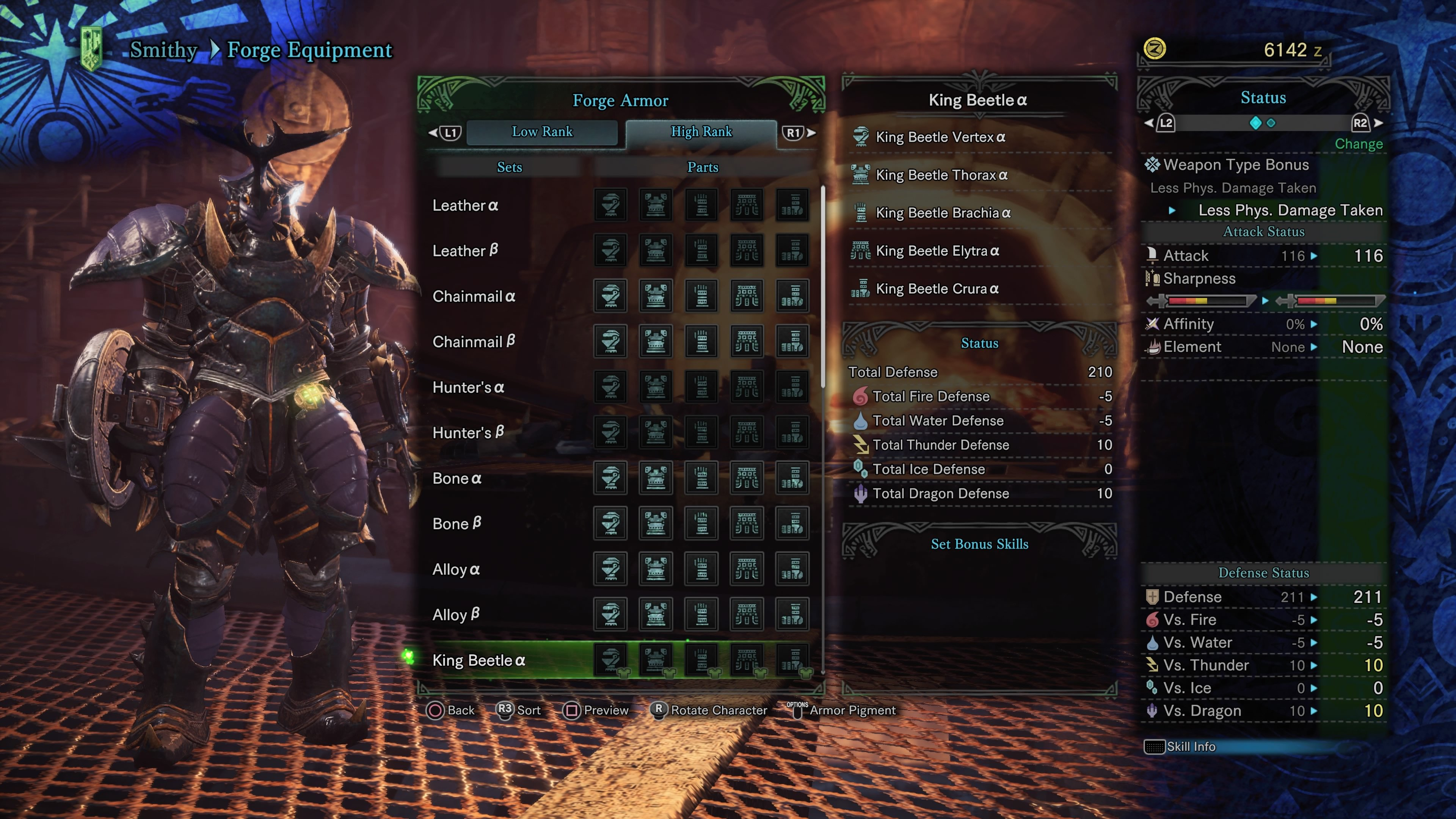 mhw high rank lvl guide