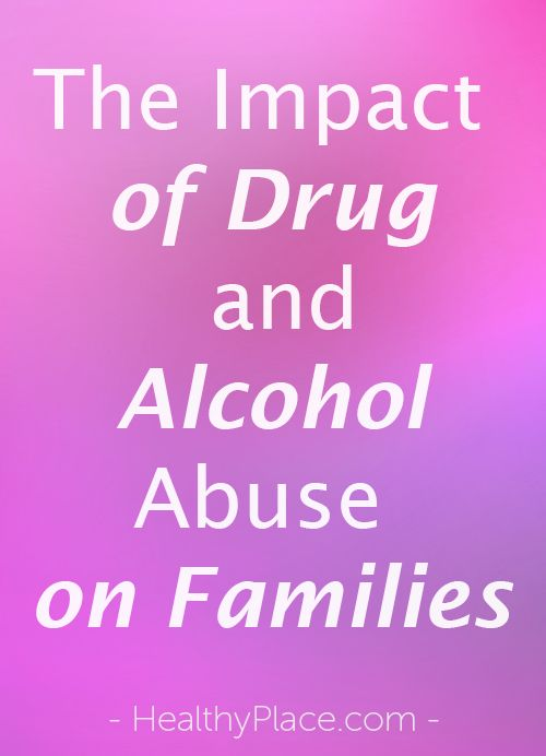 impact of substance abuse on families pdf