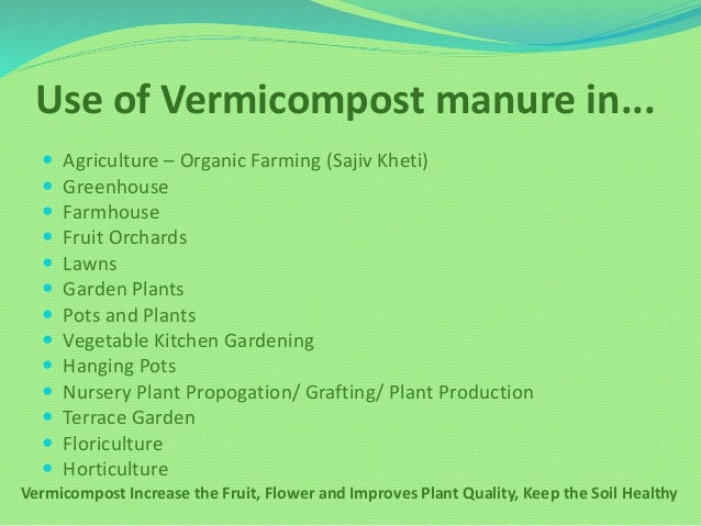 instructions on how to use vermicast fertilizer