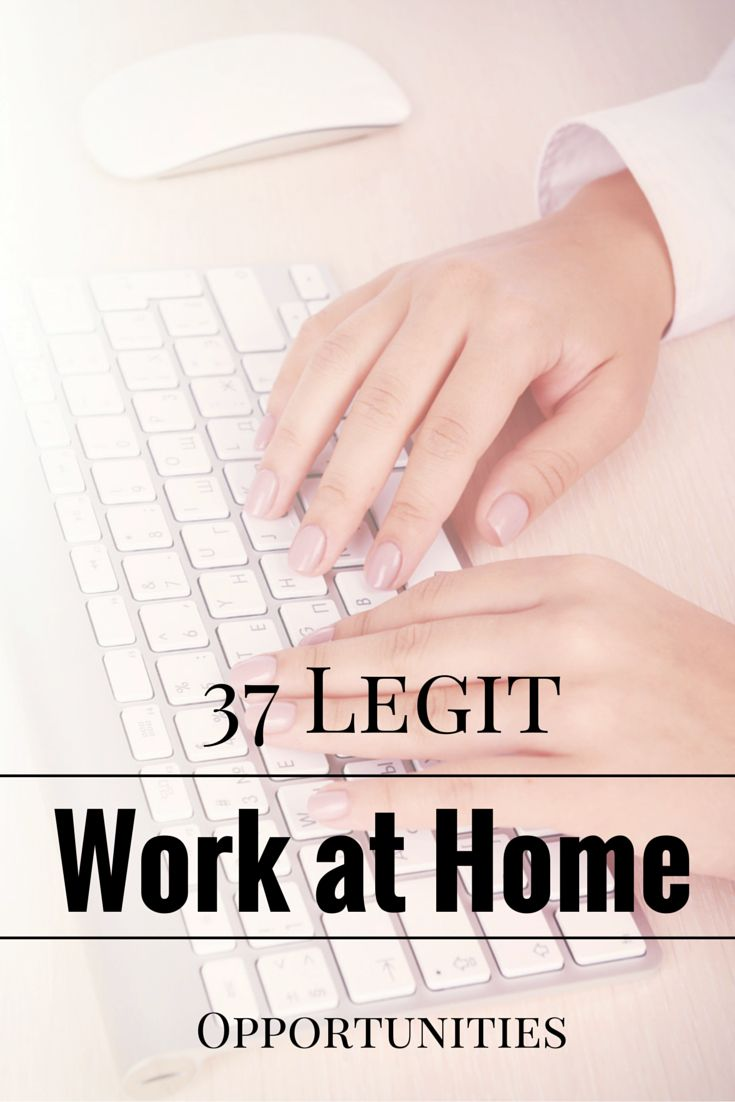 legit site work from home