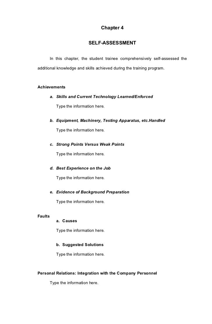 ojt manual for information technology