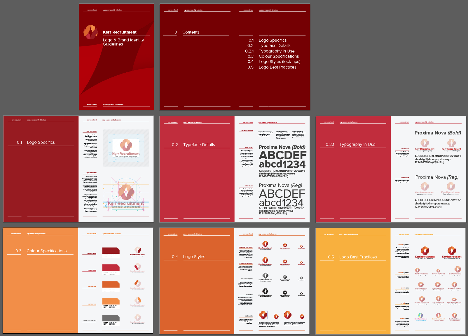 how to make corporate identity manual