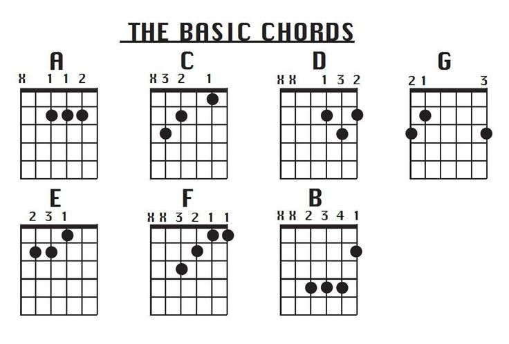 instruction on how to play basic guitar chords