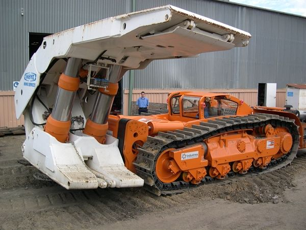 machine with application of any hydraulic equipment