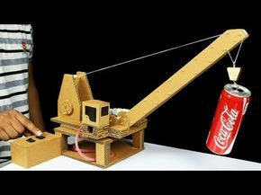 hydraulic powered robotic arm from cardboard instructions