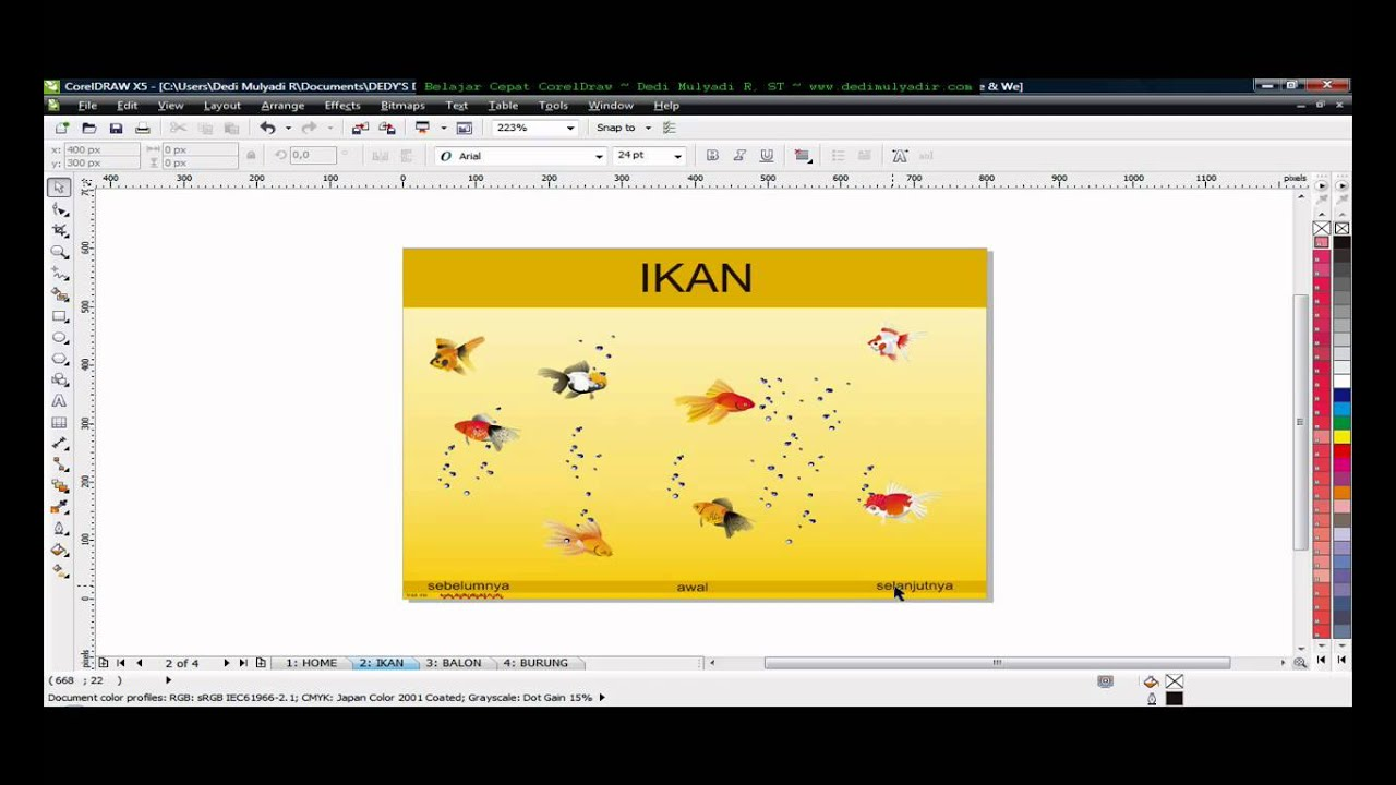 how to convert pdf to corel draw