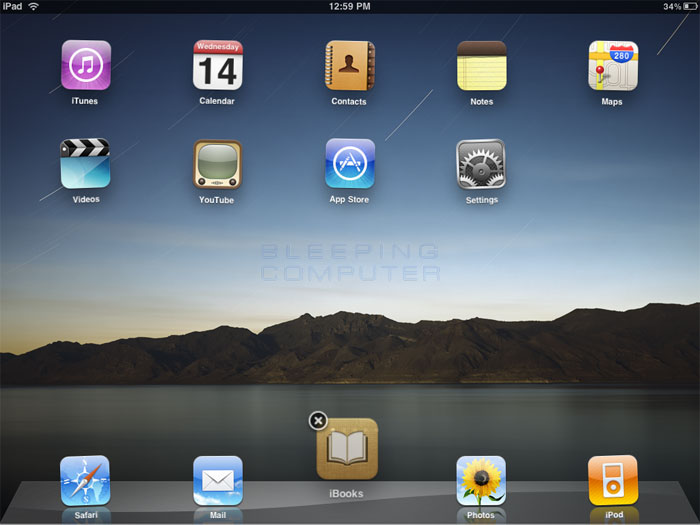 how to add application in the dock of iphone