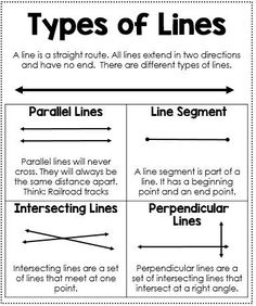 parallel lines and perpendicular lines geometry pdf