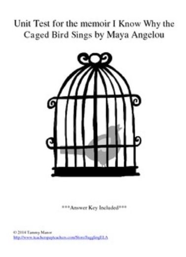 i know why the caged bird sings poem pdf