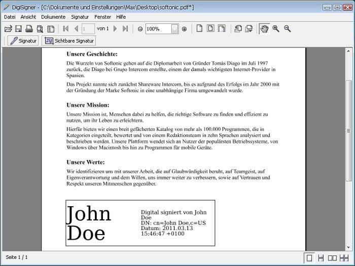 how to sign a pdf online