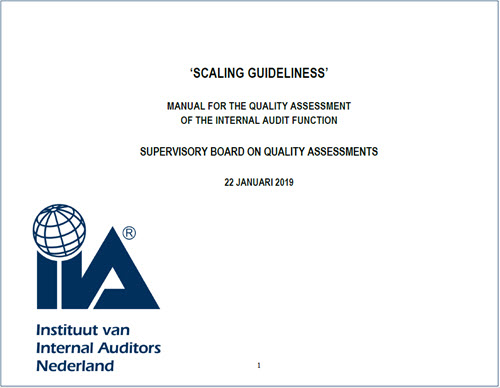 latest guidelines on internal audit