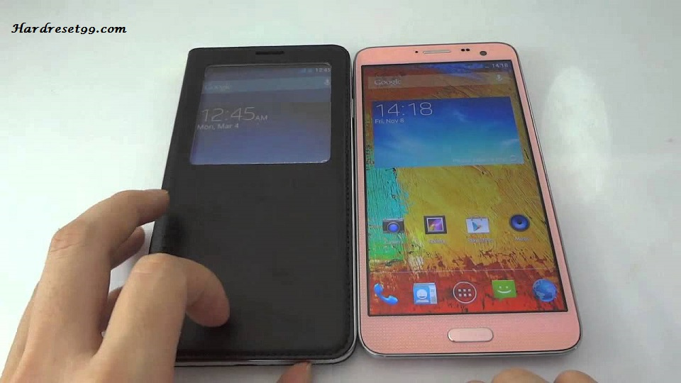 manual factory reset in samsung galaxy note 3