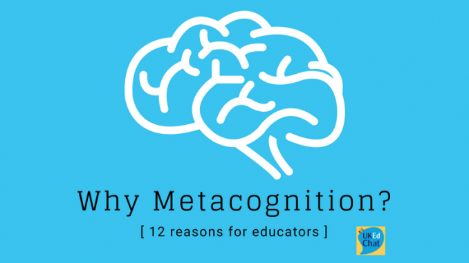 metacognition by john flavell application